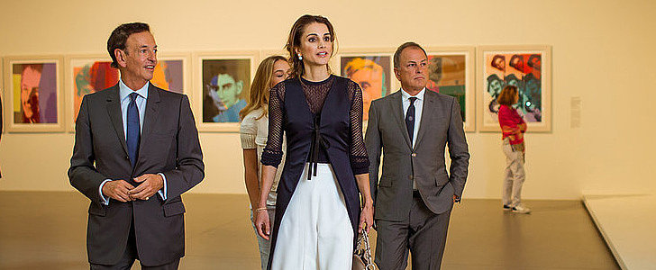 Queen Rania of Jordan Is Making a Serious Case For Culottes