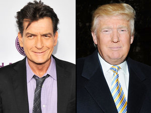 A #Winning Combination? Charlie Sheen Wants to Be Donald Trump's Vice President