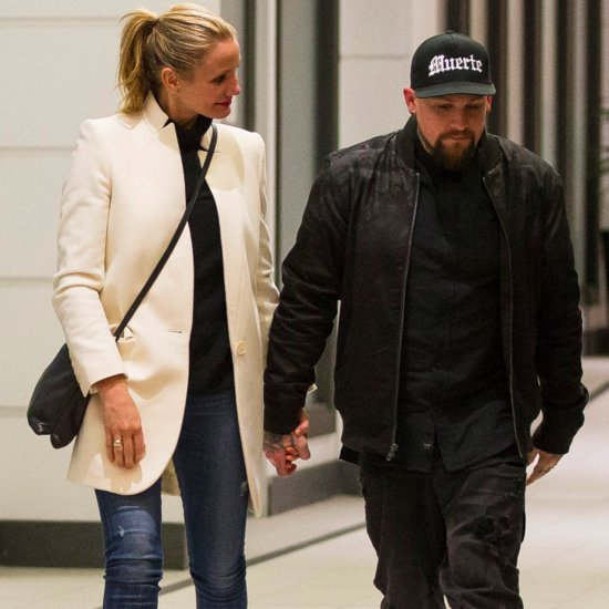 Cameron Diaz and Benji Madden at Dinner in Australia