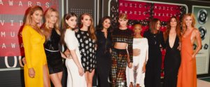 "Taylor Swift's ""Bad Blood"" Crew Looks Supersexy at the MTV VMAs"