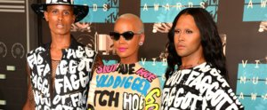 The Inspiring Reason Behind Amber Rose's Shocking Outfit