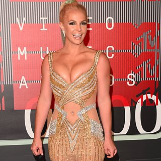 Britney Spears Dress at VMAs 2015