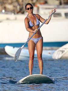 Pippa Middleton Rocks Another Sexy String Bikini - on a Paddleboard! The Secrets to Her Hardcore Training