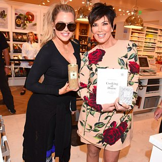 Khloe Kardashian and Kris Jenner at Cookbook Signing