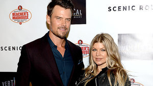 Fergie & Josh Duhamel Celebrate Axl's 2nd Birthday with 'Top Gun' Sendup