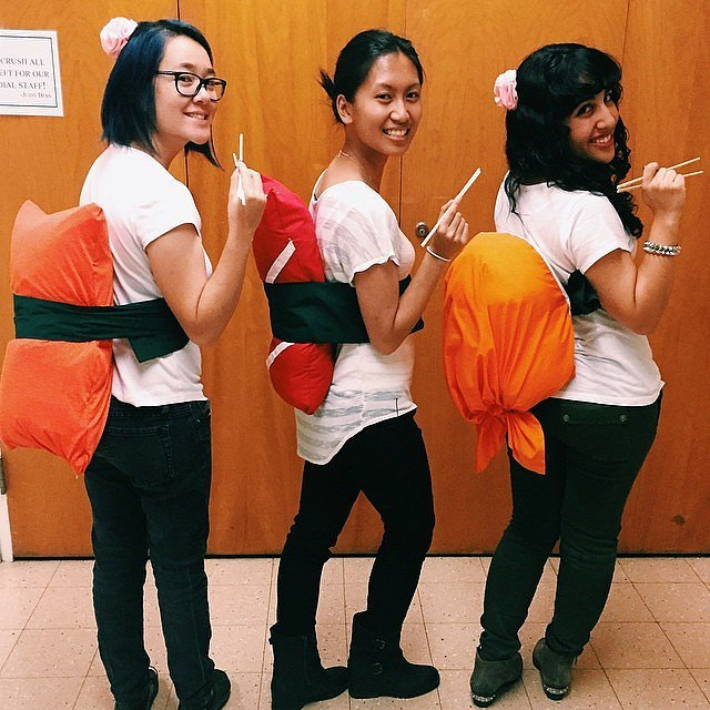 Costumes for a interracial group