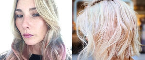 The Opal Hair Color Trend Is the Perfect Blend of Rainbow and Gray