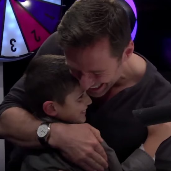 Hugh Jackman Surprises Young Fan With Cystic Fibrosis