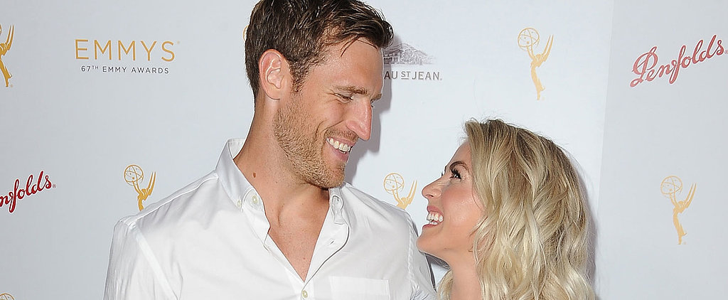 Julianne Hough Shows Off Her Gorgeous Engagement Ring on the Red Carpet