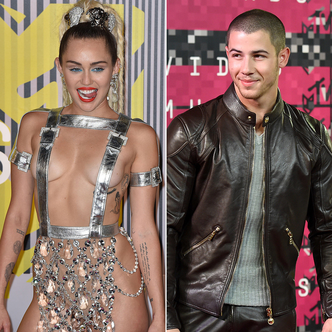 how did nick jonas and miley cyrus meet