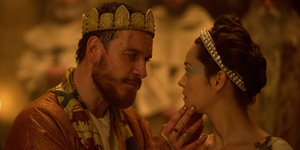 Michael Fassbender and Marion Cotillard Are a Fierce Macbeth and His Lady