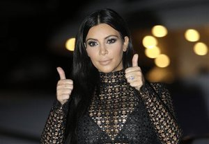 Kim Kardashian Makes Nice With the FDA