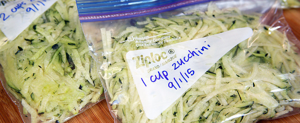 How to Freeze Zucchini to Use Anytime