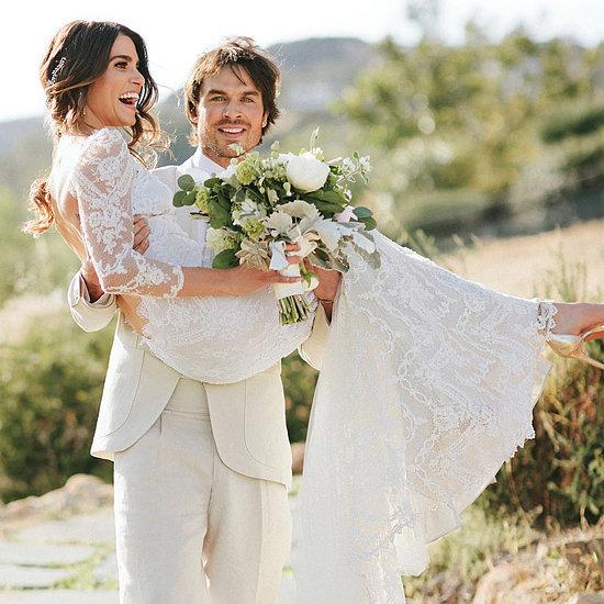 Nikki Reed Wedding Dress