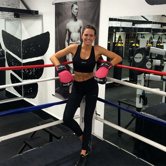 Jesinta Campbell's Weekly Workout