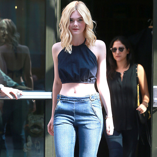 Dakota and Elle Fanning Street Style