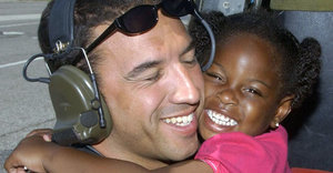 Veteran, 3-Year-Old Girl From Iconic Katrina Image To Finally Reunite