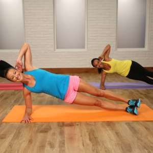 Bodyweight Workout: Planks and Squats