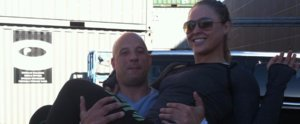Vin Diesel Gives Ronda Rousey a Lift in This Sweet Instagram Snap