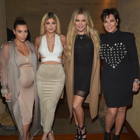 Kim Kardashian Pregnant Wearing a Crop Top