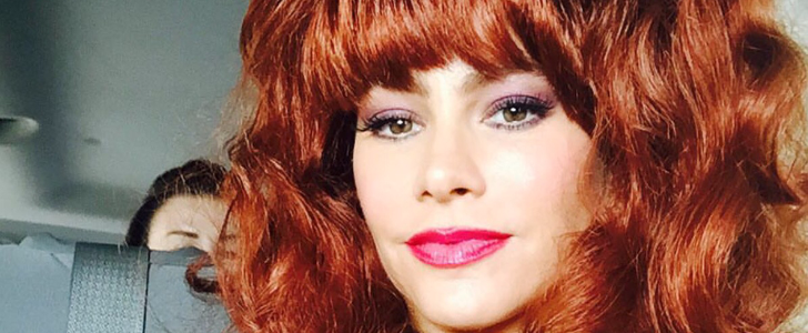See Sofia Vergara's Modern Family Halloween Costume as Peg Bundy!