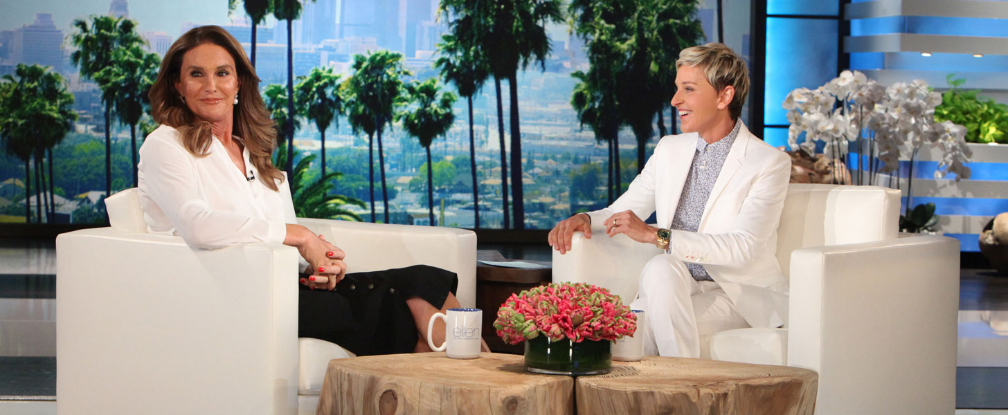 Caitlyn Jenner Gets Grilled About Her Dating Life on The Ellen DeGeneres Show