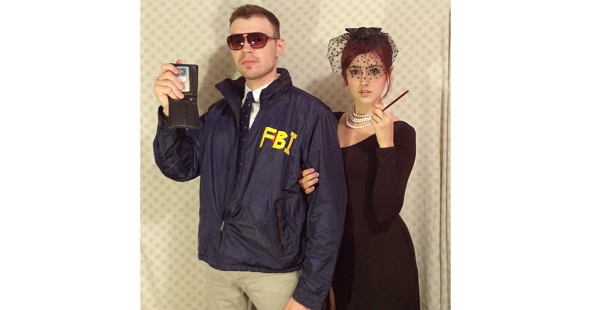 Andy Dwyer And April Ludgate As Burt Macklin Fbi And