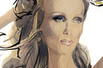 The Illustrator Who Sketches Supermodels