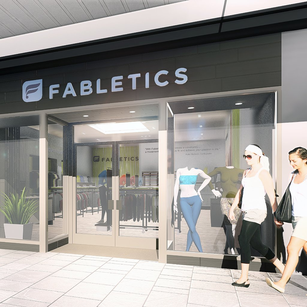 Fabletics Retail Stores Opening
