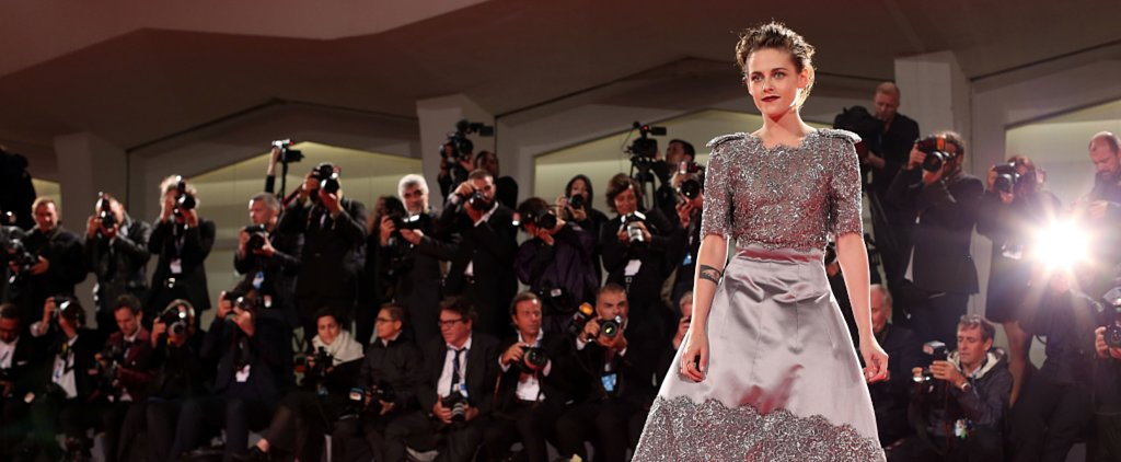 Kristen Stewart Can't Keep Her Shoes on at the Venice Film Festival