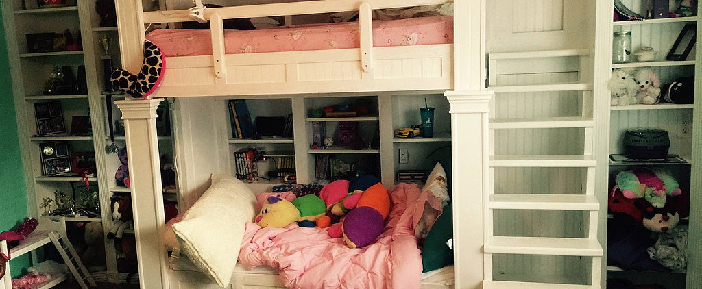 This Dad Made the Coolest Built-In Bunk Beds For His Daughters