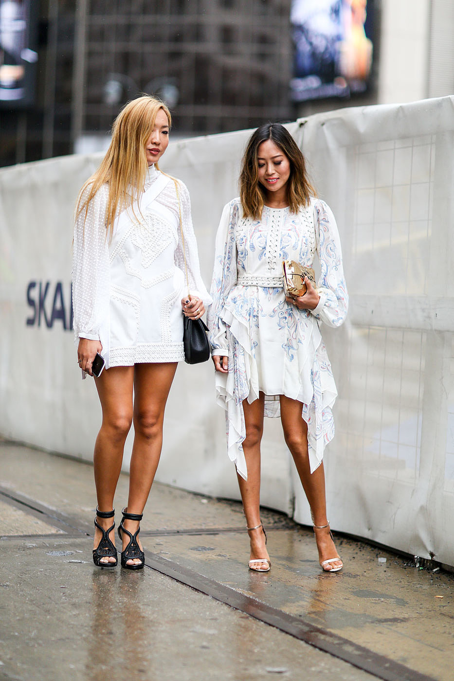 Dani And Aimee Song What They Wore New York Fashion Week 39 S Most Influential Popsugar