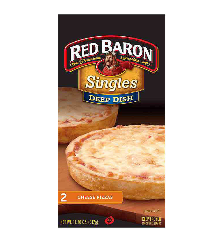 Red Baron Cheese Pizza Singles