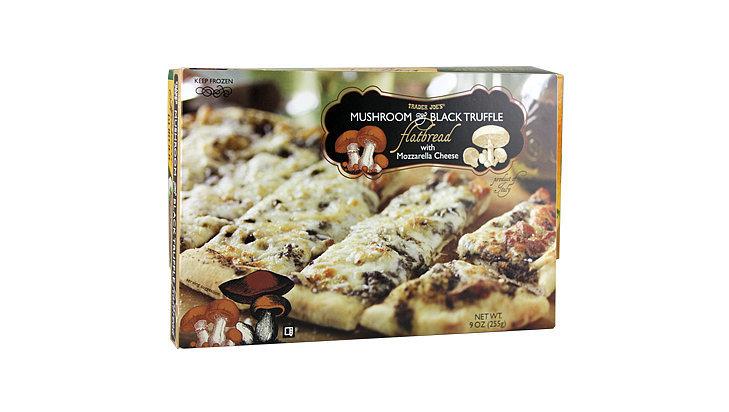 Trader Joe's Wild Mushroom & Black Truffle Flatbread