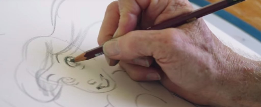Watch the Animator Behind Ariel Create Art in a Whole New Way