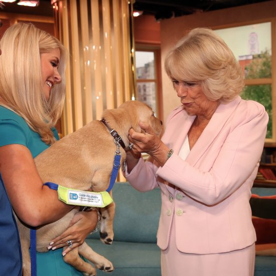 Camilla, Duchess of Cornwall, Visits the ITV Studios