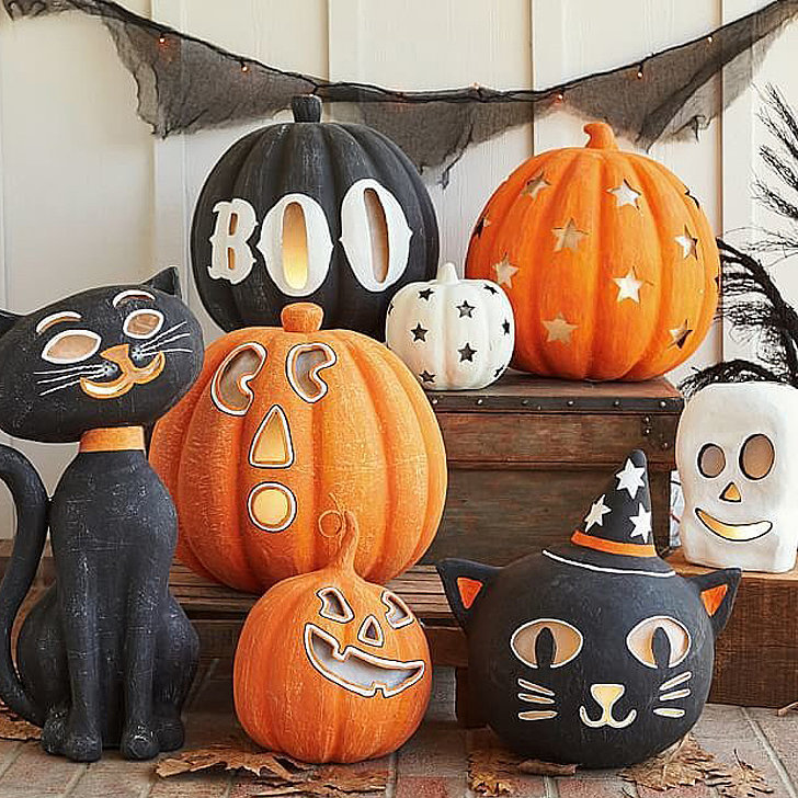 cute kid friendly halloween decorations popsugar moms. Black Bedroom Furniture Sets. Home Design Ideas