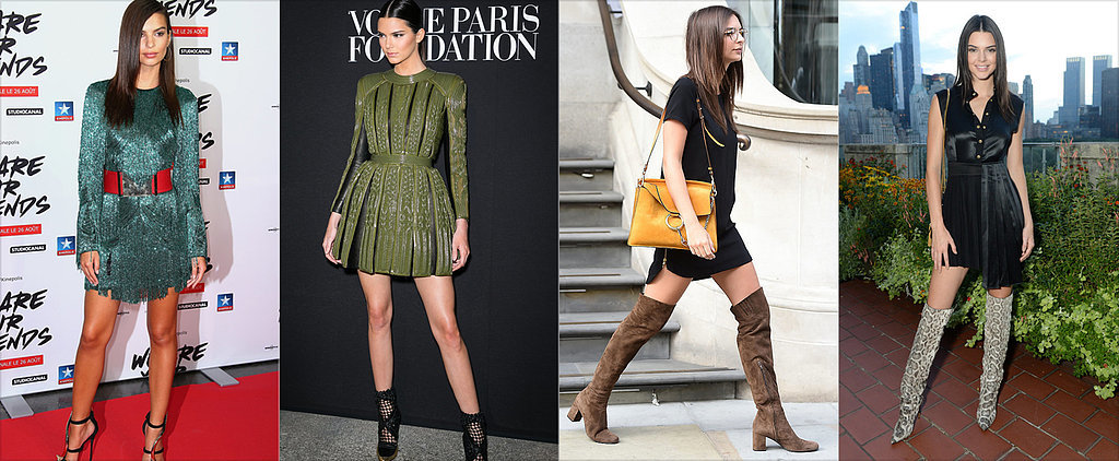 16 Times Kendall Jenner and Emily Ratajkowski Basically Wore the Same Outfit