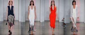 Dion Lee Takes NYFW and We're Obsessed With His Fringing