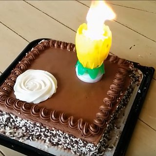 Magic Lotus Birthday Candle