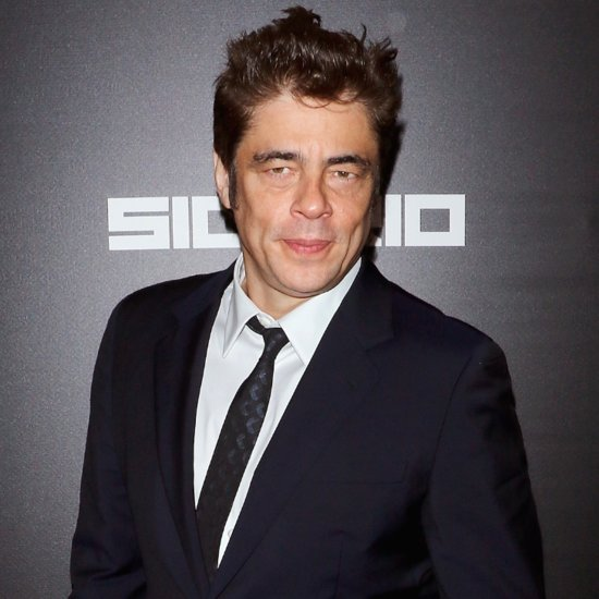 Benicio Del Toro Is Super Sexy in His New Movie