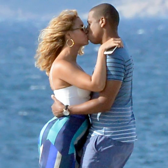 Beyonce Knowles and Jay Z Kissing in Italy 2015 Pictures