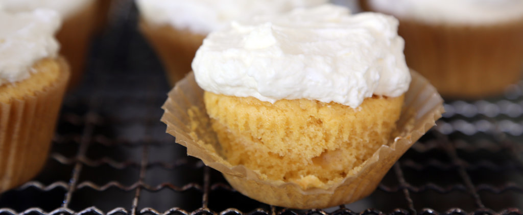 These Lightened-Up Pumpkin Cupcakes Are Practically Guilt-Free
