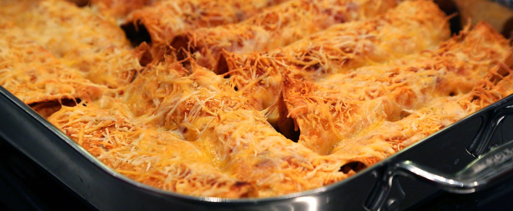 The Easiest Ever Chicken Enchiladas
