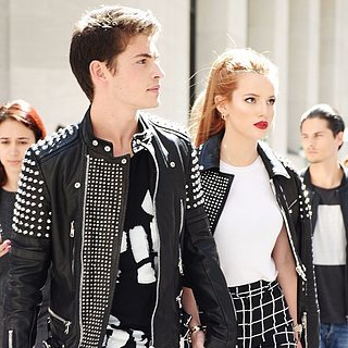 Bella Thorne and Gregg Sulkin at New York Fashion Week