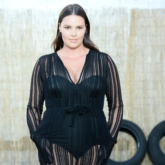Candice Huffine Plus-Size Model at New York Fashion Week