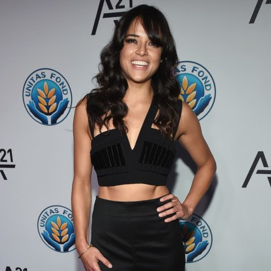 Michelle Rodriguez's Abs on the Red Carpet