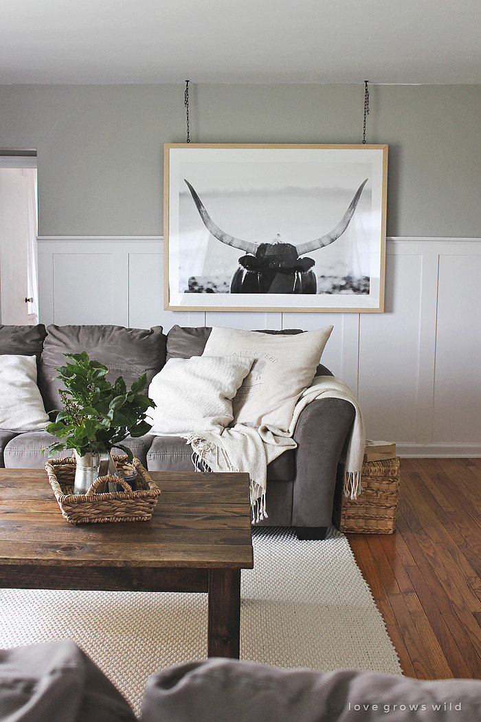 Unconventional hanging 12 ways to step up your living for Decorating with a grey couch
