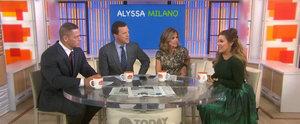 Alyssa Milano Talks Nursing in Public After Breastfeeding Selfie Sparks Debate