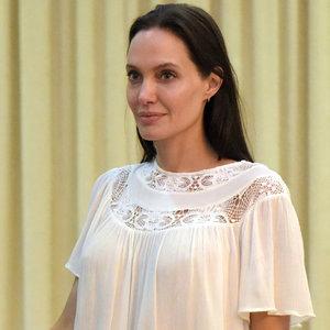Angelina Jolie in Cambodia September 2015